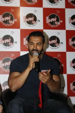 John Abraham at Welcome Back Promotion at Fever 104 fm on 6th Aug 2015