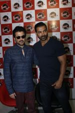 John Abraham, Anil Kapoor at Welcome Back Promotion at Fever 104 fm on 6th Aug 2015