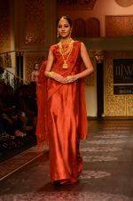 Model walk the ramp for Shyamal bhumika Grand Finale Show at IIJW 2015 on 6th Aug 2015 (20)_55c4633980372.JPG