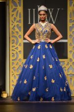 Model walk the ramp for Shyamal bhumika Grand Finale Show at IIJW 2015 on 6th Aug 2015 (4)_55c4632ae255c.JPG