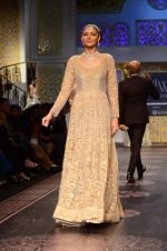 Model walk the ramp for Shyamal bhumika Grand Finale Show at IIJW 2015 on 6th Aug 2015 (14)_55c463337fc8a.JPG