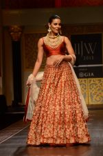 Model walk the ramp for Shyamal bhumika Grand Finale Show at IIJW 2015 on 6th Aug 2015 (23)_55c4633c897bc.JPG