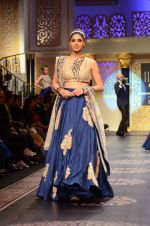 Model walk the ramp for Shyamal bhumika Grand Finale Show at IIJW 2015 on 6th Aug 2015 (6)_55c4632c44513.JPG