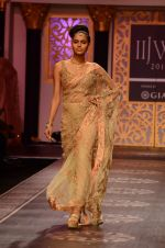 Model walk the ramp for Shyamal bhumika Grand Finale Show at IIJW 2015 on 6th Aug 2015 (75)_55c46344e295d.JPG