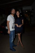 Siddhant Kapoor, Perina Qureshi at Jaanisaar Screening in Sunny Super Sound on 6th Aug 2015