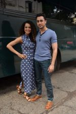 Imran Khan, Kangana Ranaut promote Katti Batti at filmistan on 7th Aug 2015
