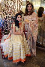 Rinke Khanna, Dimple Kapadia at Abu Jani Sandeep Khosla unveiled their latest collection- VARANASI at the opening of BMW India Bridal Fashion Week on 7th Aug 2015 (19)_55c5d70aba4c6.JPG