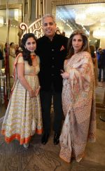 Rinke Khanna, Dimple Kapadia at Abu Jani Sandeep Khosla unveiled their latest collection- VARANASI at the opening of BMW India Bridal Fashion Week on 7th Aug 2015 (21)_55c5d70bc5cd8.JPG