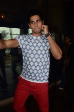 Sidharth Malhotra at Brothers promotion on 7th Aug 2015