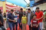 Abhishek Bachchan and Rishi Kapoor on the sets of Sab Tv