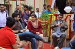 Abhishek Bachchan, Rishi Kapoor, Supriya Pathak on the sets of Sab Tv