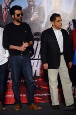 Anil Kapoor, Firoz Nadiadwala at Welcome Back title song launch in Mumbai on 8th Aug 2015