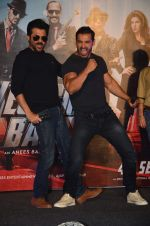Anil Kapoor, John Abraham at Welcome Back title song launch in Mumbai on 8th Aug 2015