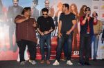 Anil Kapoor, John Abraham, Mika Singh at Welcome Back title song launch in Mumbai on 8th Aug 2015