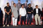 Anil Kapoor, John Abraham, Nana Patekar, Anees Bazmee, Firoz Nadiadwala at Welcome Back title song launch in Mumbai on 8th Aug 2015 (130)_55c74001adc26.JPG