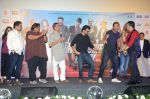 Anil Kapoor, John Abraham, Nana Patekar, Mika Singh at Welcome Back title song launch in Mumbai on 8th Aug 2015