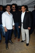Anil Kapoor,Anees Bazmee, Firoz Nadiadwala at Welcome Back title song launch in Mumbai on 8th Aug 2015