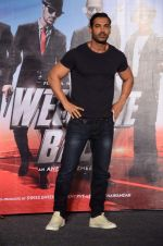 John Abraham at Welcome Back title song launch in Mumbai on 8th Aug 2015