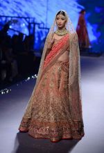 Model walks for Tarun Tahiliani Show at India Bridal Week on 8th Aug 2015