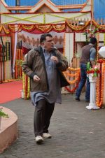 Rishi Kapoor on the sets of Sab Tv