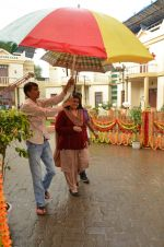 Supriya Pathak on the sets of Sab Tv