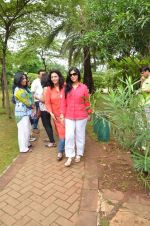 Sakshi Tanwar at tree plantation event in Malad on 9th Aug 2015 (13)_55c8565be15a8.JPG