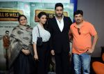 Asin Thottumkal, Abhishek Bachchan, Supriya Pathak at All is well press meet in Gurgaon on 10th Aug 2015 (79)_55c9a431e245b.jpg