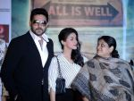 Asin Thottumkal, Abhishek Bachchan, Supriya Pathak at All is well press meet in Gurgaon on 10th Aug 2015
