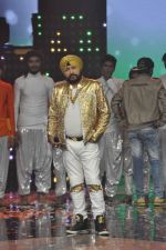Daler mehndi at Voice of India - Independence day special shoot in R K Studios on 10th Aug 2015 (16)_55c9a5ec733ab.JPG