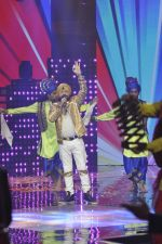 Daler mehndi at Voice of India - Independence day special shoot in R K Studios on 10th Aug 2015