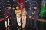 Karan Tacker,Himesh Reshammiya, Mika Singh, Daler mehndi , Sunidhi Chauhan, Shaan at Voice of India - Independence day special shoot in R K Studios on 10th Aug 2015