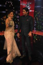 Sunidhi Chauhan, Shaan at Voice of India - Independence day special shoot in R K Studios on 10th Aug 2015