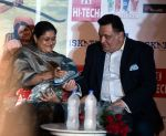 Supriya Pathak, Rishi Kapoor at All is well press meet in Gurgaon on 10th Aug 2015