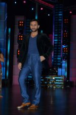 Saif Ali Khan at Dance show to promote Phantom at Yashraj Studios on 11th Aug 2015