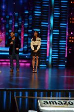 Saif Ali Khan, Katrina Kaif at Dance show to promote Phantom at Yashraj Studios on 11th Aug 2015