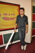 Imran Khan at Radio Mirchi studio to promote their film Katti Batti on 12th Aug 2015