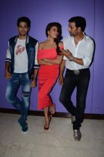 Jacqueline Fernandez, Akshay Kumar and Sidharth Malhotra at the interview for the film brothers in Novotel on 12th Aug 2015