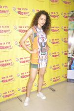 Kangana Ranaut at Radio Mirchi studio to promote their film Katti Batti on 12th Aug 2015
