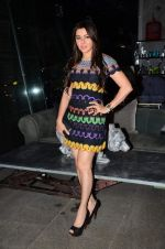 Kehkashan Patel at Zarine Khan_s The Khan_s Family Secret Cookbook book Launch in The Charcoal Project on 12th Aug 2015 (56)_55cc4a2879965.JPG