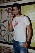 Sidharth Malhotra at the interview for the film brothers in Novotel on 12th Aug 2015
