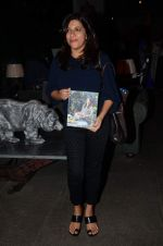 Zoya Akhtar at Zarine Khan_s The Khan_s Family Secret Cookbook book Launch in The Charcoal Project on 12th Aug 2015 (83)_55cc4aaa05f4b.JPG