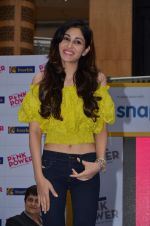 Pooja Chopra with Pink power for Inorbit Mall in malad on 13th Aug 2015