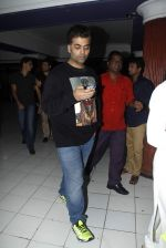 Karan Johar snapped at Chandan cinema on 14th Aug 2015