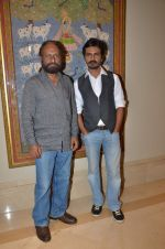 Nawazuddin Siddiqui, ketan mehta interviews in Juhu, Mumbai on 14th Aug 2015