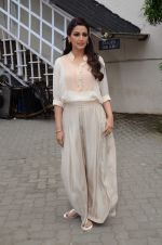 Sonali Bendre snapped in mehboob on 14th Aug 2015