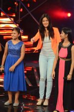 Katrina Kaif at the Promotion of Phantom on the sets of Indian Idol Junior 2015 in Mumbai on 16th Aug 2015
