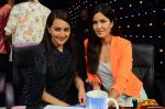 Katrina Kaif, Sonakshi Sinha at the Promotion of Phantom on the sets of Indian Idol Junior 2015 in Mumbai on 16th Aug 2015