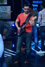 Saif Ali Khan at the Promotion of Phantom on the sets of Indian Idol Junior 2015 in Mumbai on 16th Aug 2015