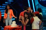 Saif Ali Khan, Katrina Kaif at the Promotion of Phantom on the sets of Indian Idol Junior 2015 in Mumbai on 16th Aug 2015