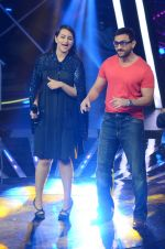 Saif Ali Khan, Sonakshi Sinha at the Promotion of Phantom on the sets of Indian Idol Junior 2015 in Mumbai on 16th Aug 2015